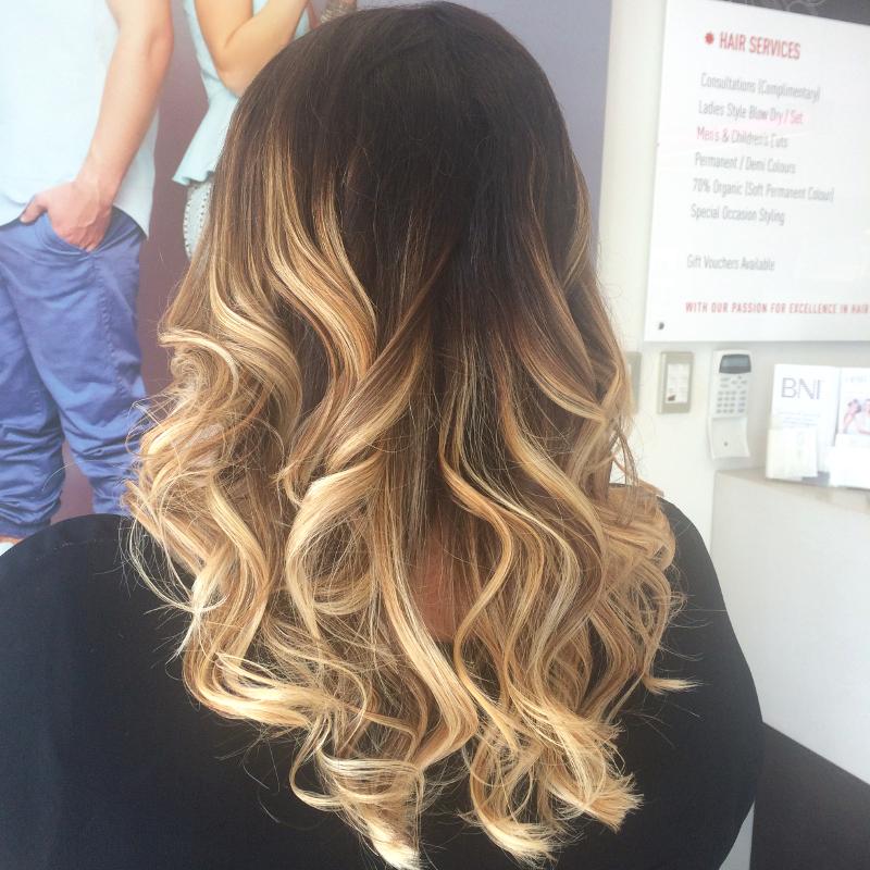 GHD Curls Image